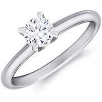 Jeanne Classic Diamond Solitaire by Eternity