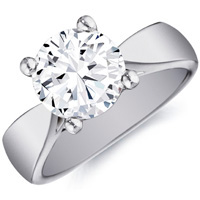 Liliana Diamond Solitaire in Four-Prong Setting by Eternity
