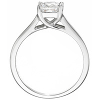 Valentina Princess-Cut Diamond Solitaire by Eternity