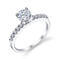 Adriana Prong Set Engagement Ring by Eternity (.18 ctw.)